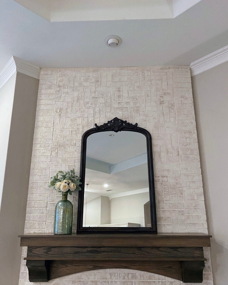 Aged Metal Mirror