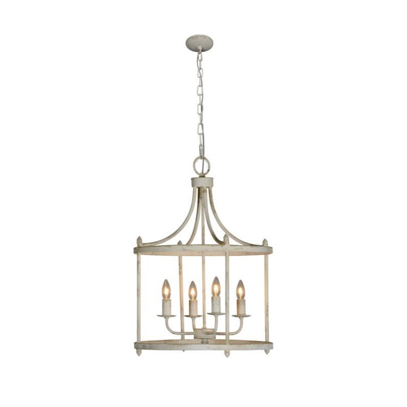White Arlington Chandelier
