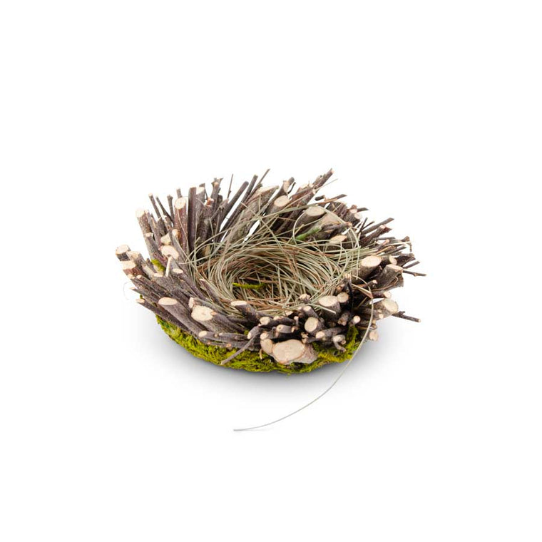 Twig and Moss Bird Nest (Various Sizes)