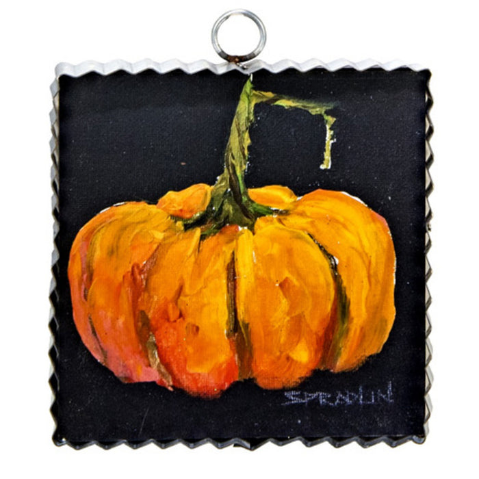 Orange Pumpkin Mini Gallery Print