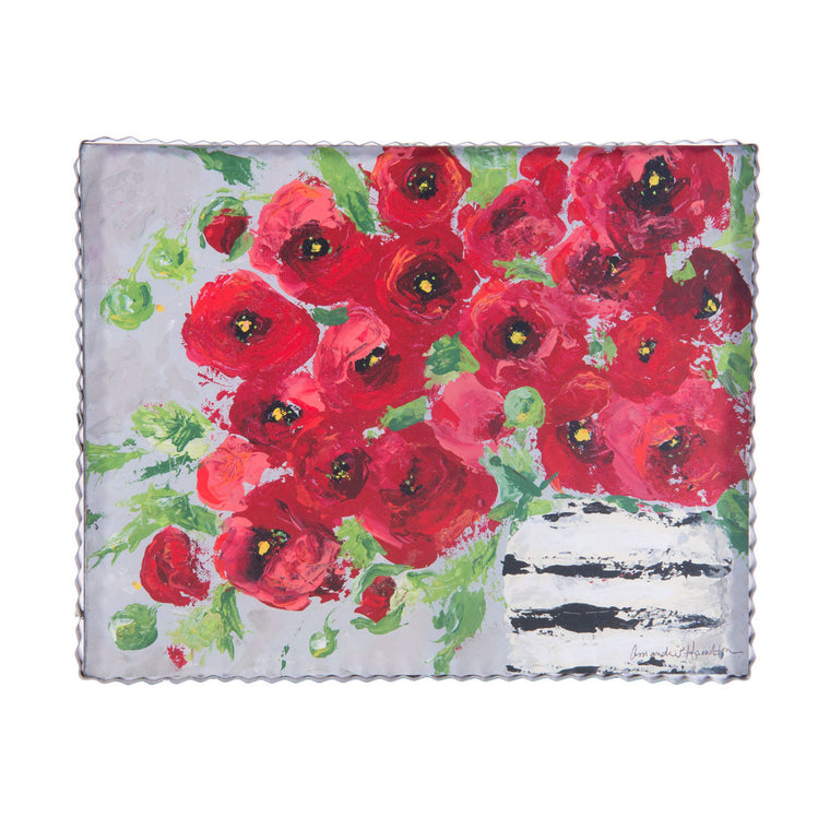 Shabby Poppies Gallery Print