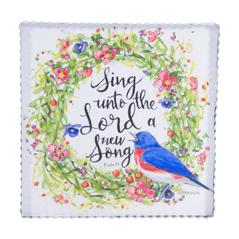 Sing a Song Wreath Gallery Print