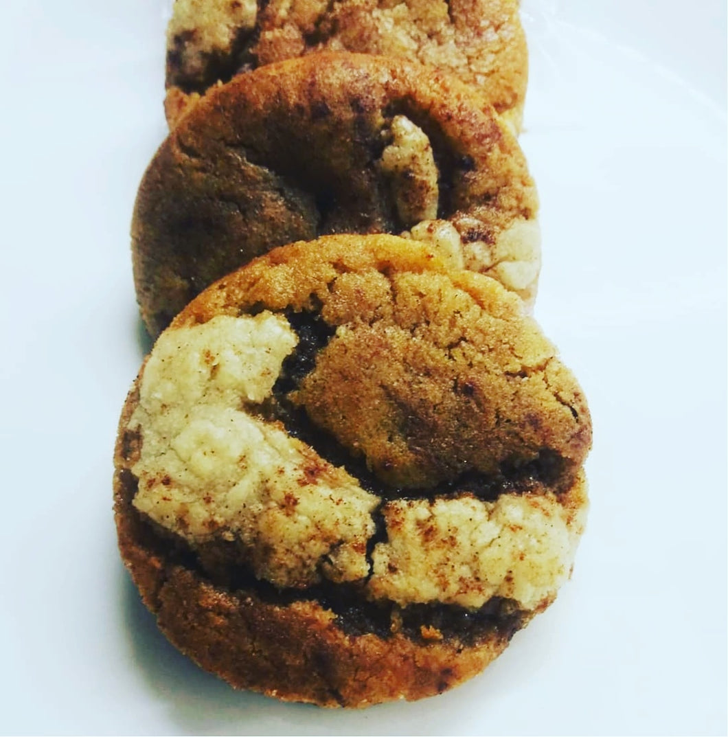 Spiked Apple Pie Cookie