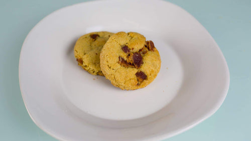 MAPLE WHISKEY BACON COOKIE
