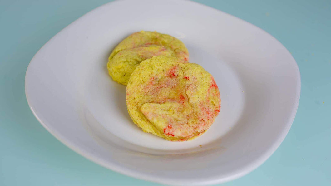 Spiked Raspberry Lemonade Sugar Cookie