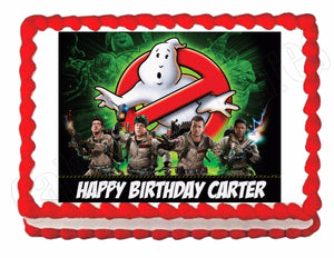 Ghostbusters Edible Cake Image Cake Topper - Cakes For Cures