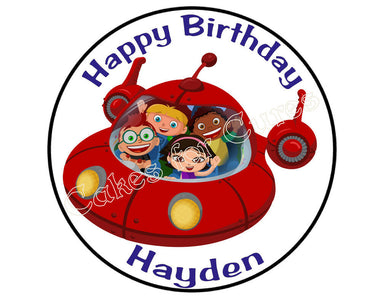 Little Einsteins Round Edible Cake Image Cake Topper - Cakes For Cures