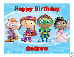 SuperWhy Edible Cake Image Cake Topper - Cakes For Cures