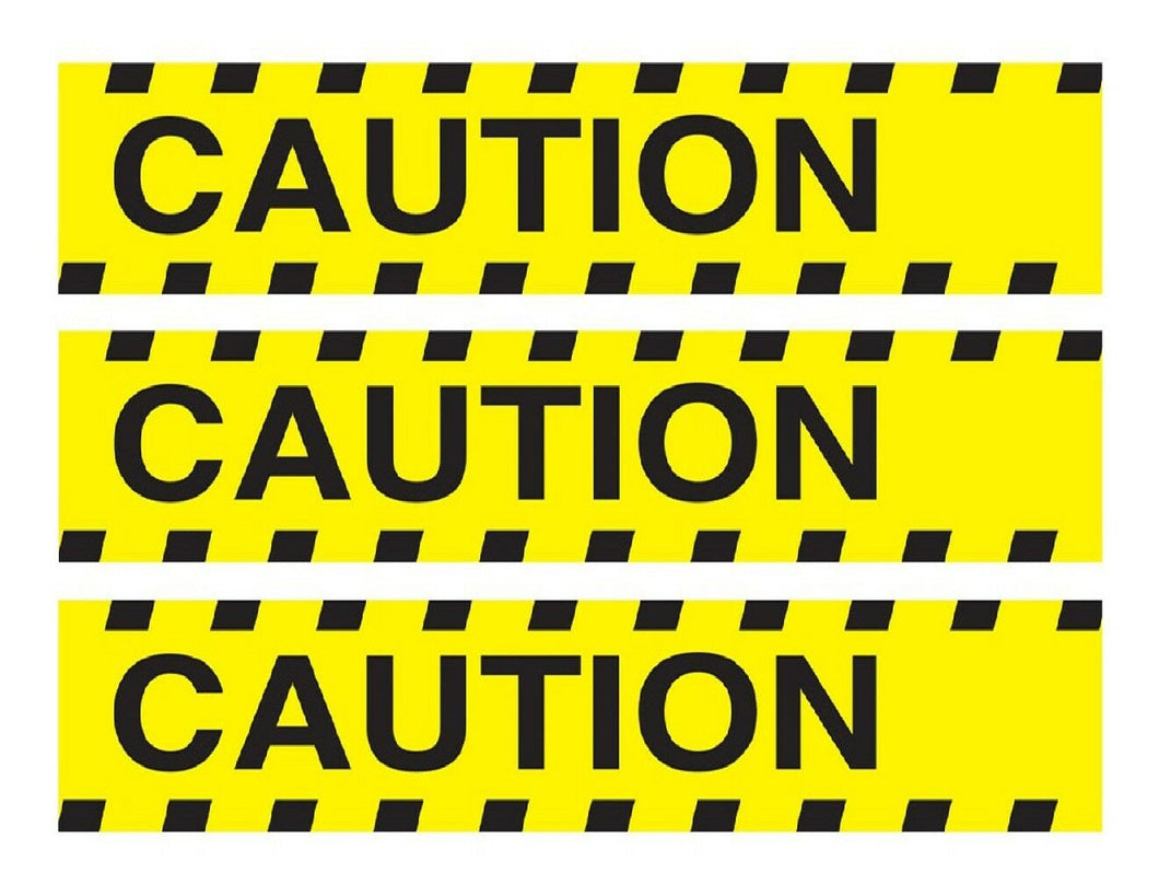 Caution tape edible Cake Strips Cake Wraps - Cakes For Cures