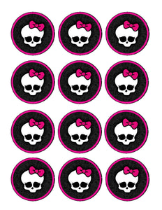 Monster High Edible Cupcake Images - Cupcake Toppers - Cakes For Cures