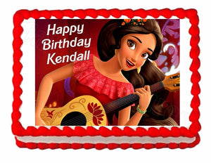 Princess Elena of Avalor Edible Cake Image Cake Topper - Cakes For Cures