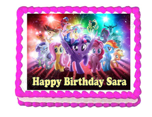 My Little Pony Edible Cake Image Cake Topper - Cakes For Cures