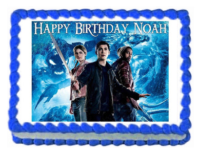 Percy Jackson & the Sea of Monsters Edible Cake Image Cake Topper - Cakes For Cures