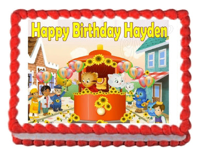 Daniel Tiger's Neighborhood Edible Cake Image Cake Topper - Cakes For Cures