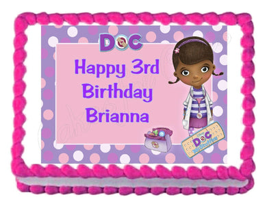 Doc McStuffins Edible Cake Image Cake Topper - Cakes For Cures