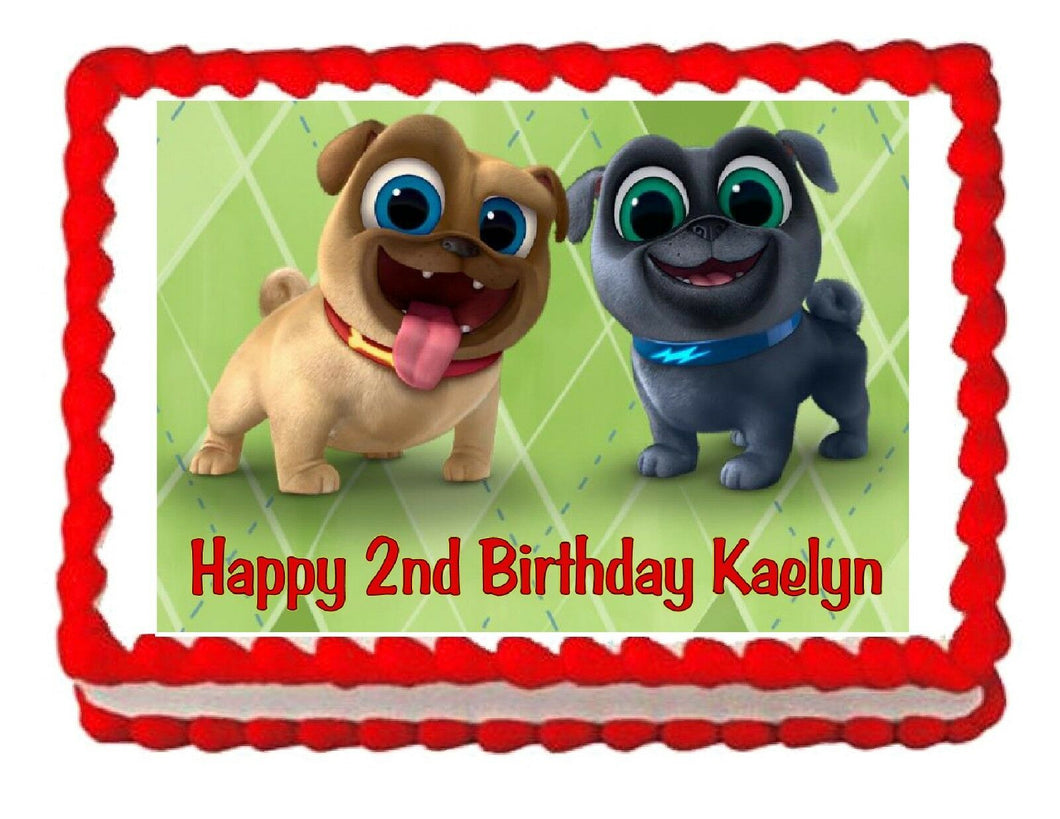 Puppy Dog Pals Edible Cake Image Cake Topper - Cakes For Cures