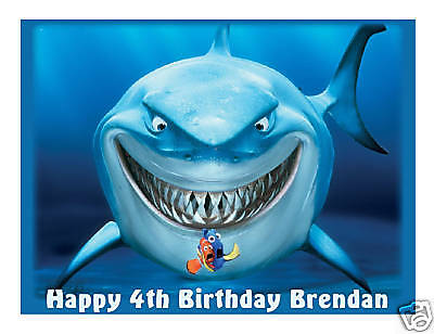 Finding Nemo Bruce Edible Cake Image Cake Topper - Cakes For Cures
