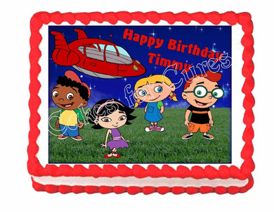 Little Einsteins Edible Cake Image Cake Topper - Cakes For Cures