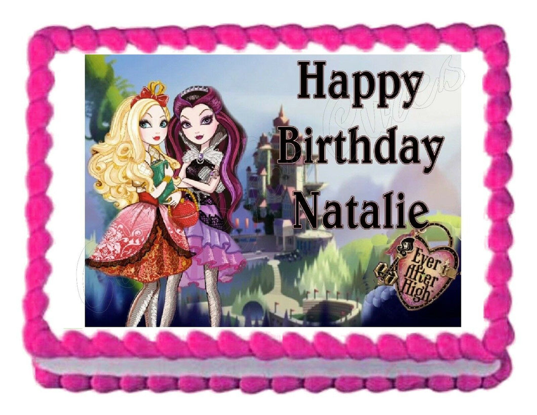 Ever After High Edible Cake Image Cake Topper - Cakes For Cures