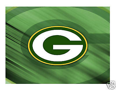 Green Bay Packers Football Edible Cake Image Cake Topper - Cakes For Cures