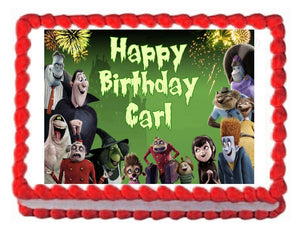 Hotel Transylvania Edible Cake Image Cake Topper - Cakes For Cures