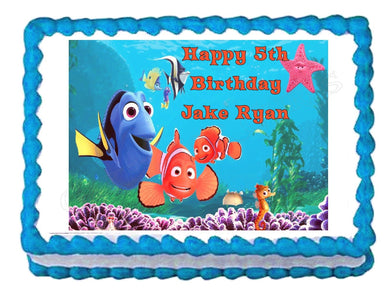 Finding Nemo Edible Cake Image Cake Topper - Cakes For Cures