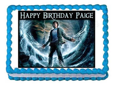 Percy Jackson & The Olympians Edible Cake Image Cake Topper - Cakes For Cures