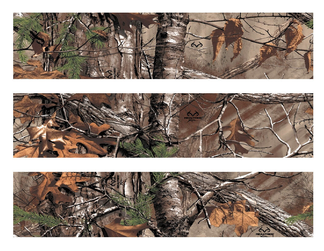 Real Tree RealTree Camo Edible Cake Strips -Cake Wraps - Cakes For Cures