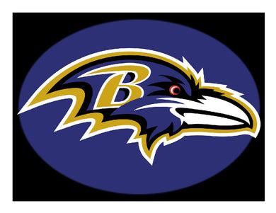 Baltimore Ravens Football Edible Cake Image Cake Topper - Cakes For Cures