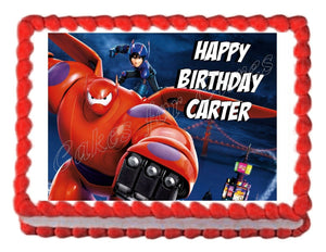 BIG HERO 6 Edible Cake Image Cake Topper - Cakes For Cures