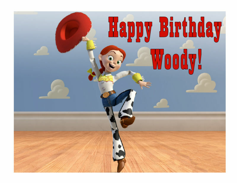 Toy Story Jessie Edible Cake Image Cake Topper - Cakes For Cures