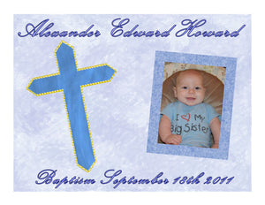 Dedication Baptism Confirmation Edible Cake Image Cake Topper - Cakes For Cures