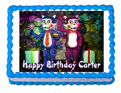 Five nights at Candy's FNaC2  Edible Cake Image Cake Topper - Cakes For Cures