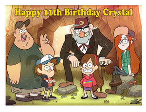 Gravity Falls Edible Cake Image Cake Topper - Cakes For Cures