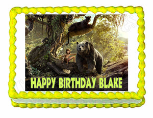 Jungle Book Edible Cake Image Cake Topper - Cakes For Cures