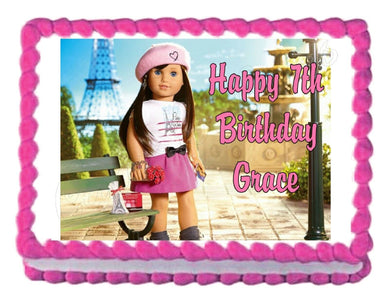 American Girl GRACE 2015 Edible Cake Image Cake Topper - Cakes For Cures
