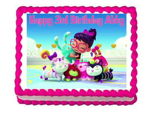 Abby Hatcher Edible Cake Image Cake Topper - Cakes For Cures