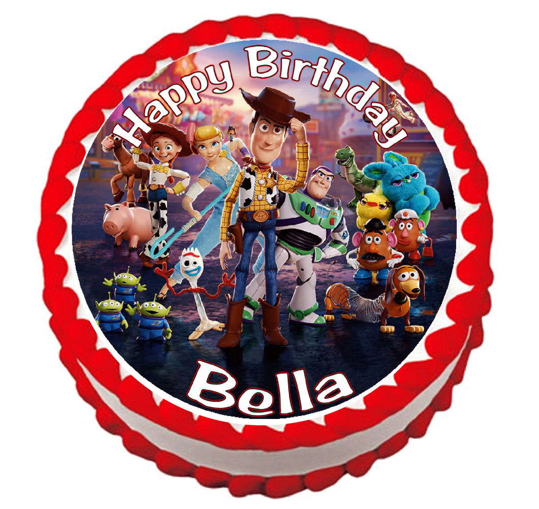 Toy Story 4 Edible Cake Image Frosting Sheet