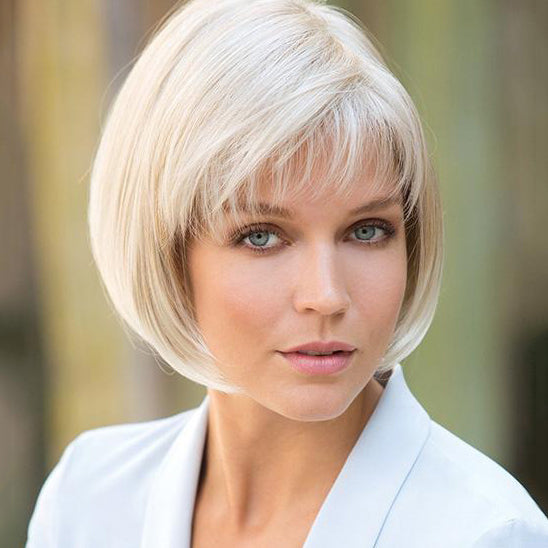 Light Blonde Pixie Cut Bob Wigs Short Blonde Wig For White Women