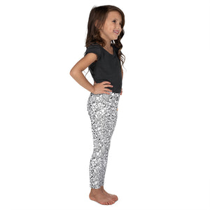 Black and White one-eyed Pinecones - Kid's Design Leggings