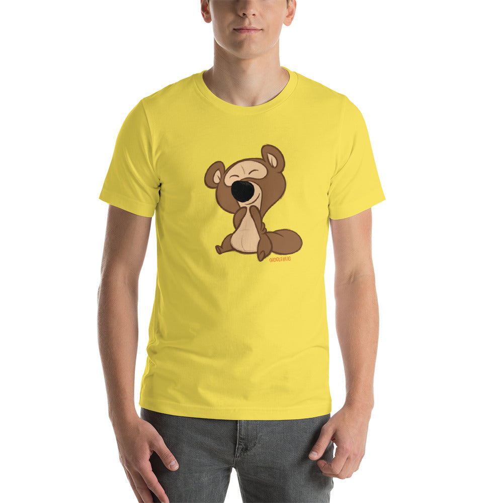 Gigglebug: Barry (adult sizes) Short-Sleeve Unisex T-Shirt