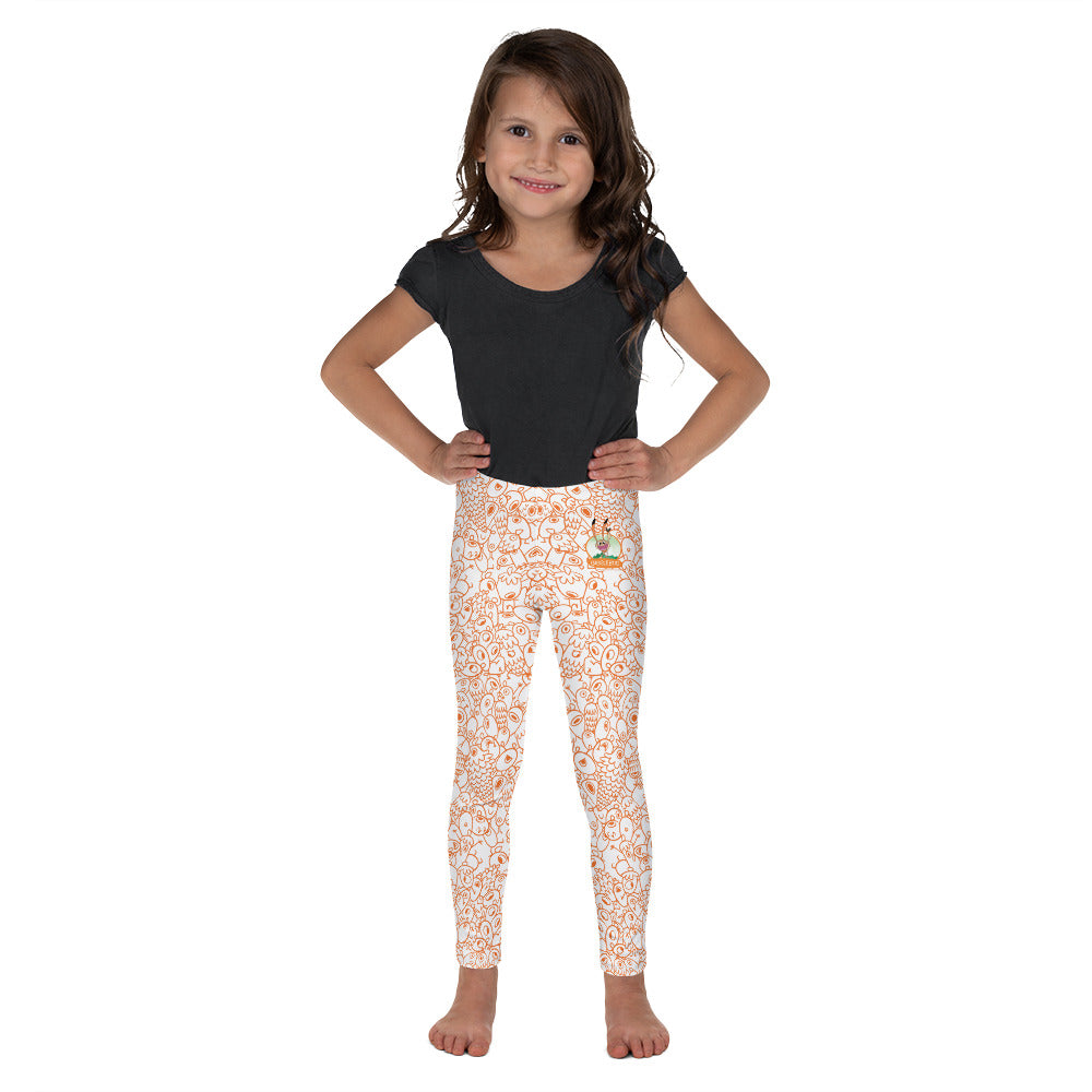 One-eyed Pinecones - Kid's Design Leggings