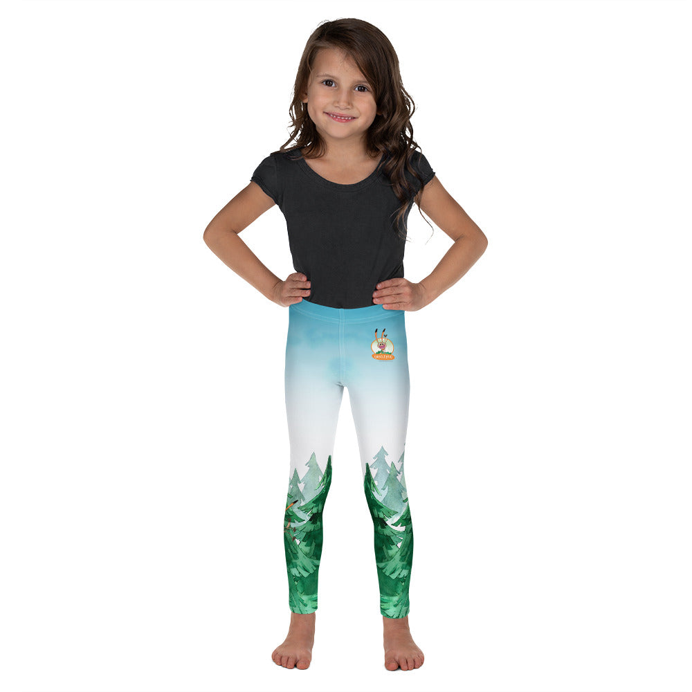 Gigglebug - Kid's Forest Leggings