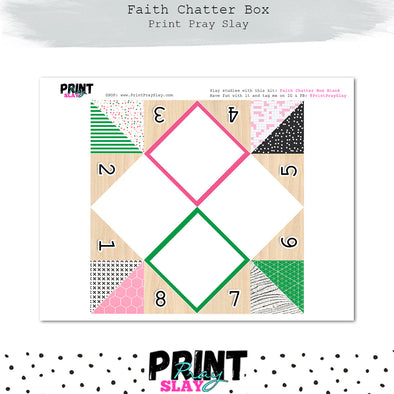 Blank Faith Chatter Box