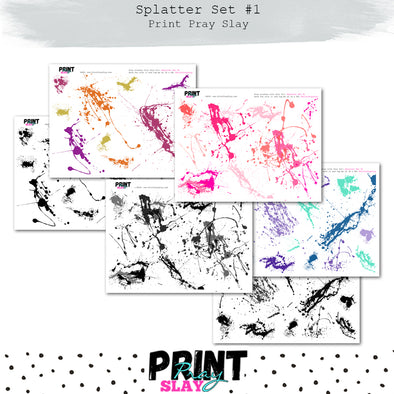 Splatter Set #1