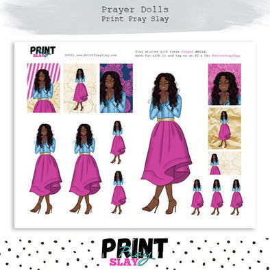 Prayer Planner Doll DP