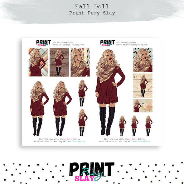 Exclusive Fall Dolls