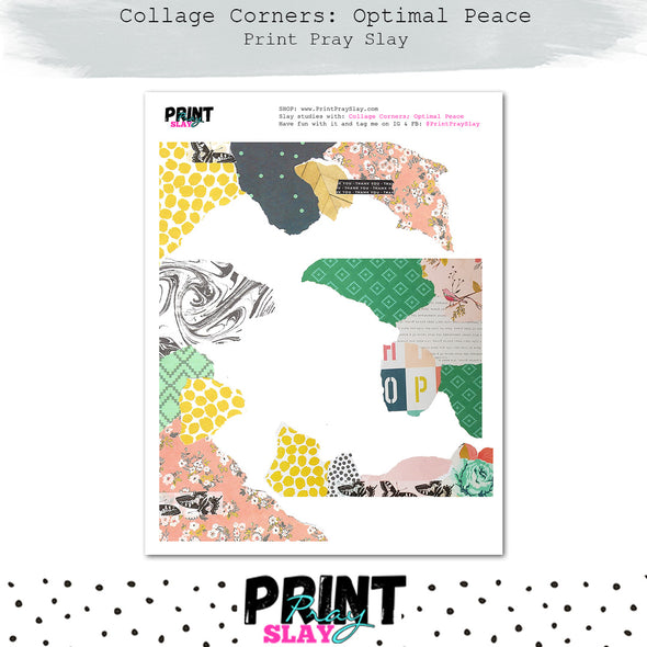 Collage Corners - Optimal Peace