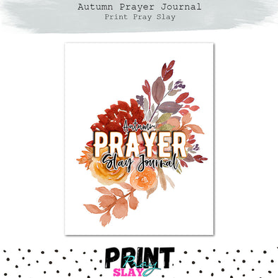 Autumn Prayer Journal (30 pgs)