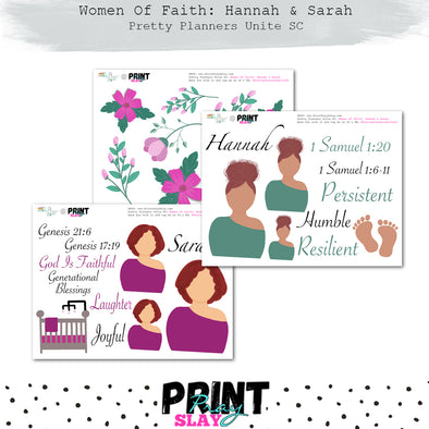 Women of Faith: Hannah & Sarah PPUSC